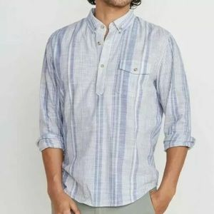 Marine Layer Men's Caldwell Striped Popover Marge